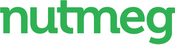 Nutmeg logo green